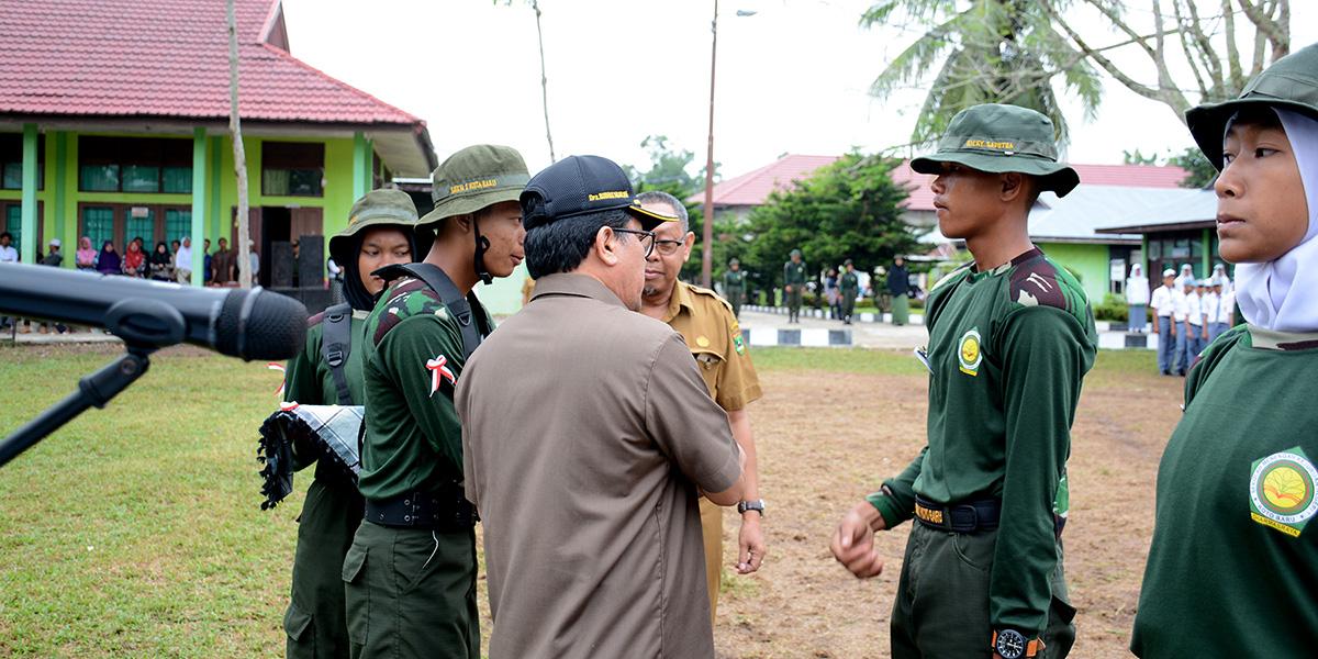 Pelantikan Latdastar Oleh Kepala Dinas Pendidikan Provinsi Sumatera Barat